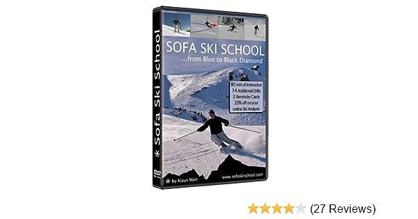 Amazon.com : Sofa Ski School   From Blue To Black Diamond : Skiing  Instruction Videos : Sports U0026 Outdoors