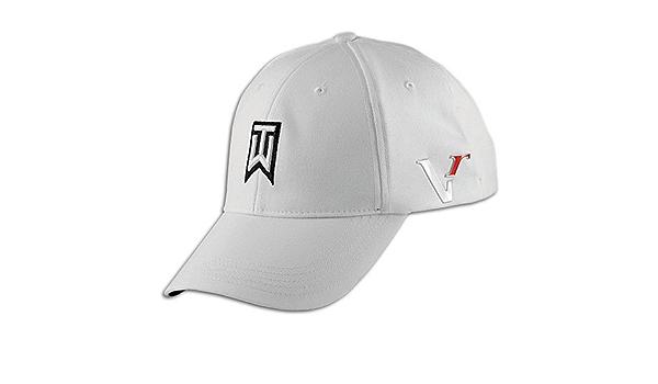 Contestar el teléfono Penetrar portátil  Amazon.com: Nike Tiger Woods TW Victory Red Golf Cap Hat White L/XL:  Clothing