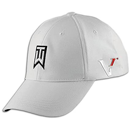 Amazon.com  Nike Tiger Woods TW Victory Red Golf Cap Hat White L XL ... 0e9936db3dc
