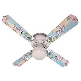 Ceiling Fan Designers Ceiling Fan, Disney Princess...