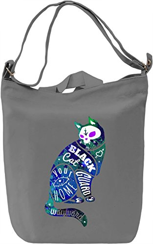 Punk Rock Cat Borsa Giornaliera Canvas Canvas Day Bag| 100% Premium Cotton Canvas| DTG Printing|