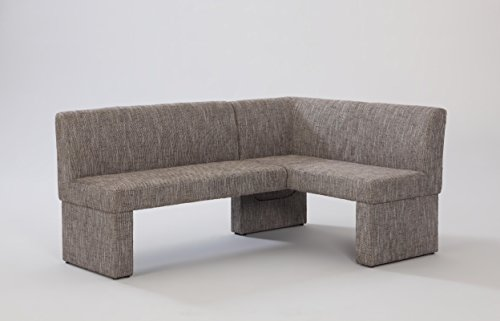 Chintaly Imports Labrenda Fully Upholstered Nook, Neutral Weave ()