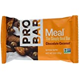 ProBar Meal Bar - Chocolate Coconut - Certified Organic - 12 Pack, 3 Ounce