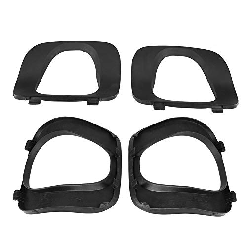 Gift-4Car - 2 pcs Car Styling Car Rear Right Left Covering Trim for BMW X5 E53 01-06 Bumper Cover Tail Pipe car ()