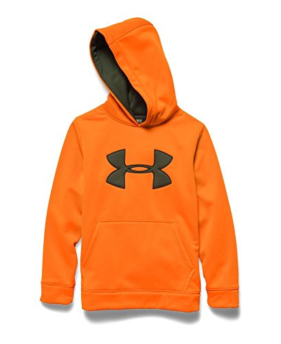 Under Armour Youth Camo Big Logo Hoody Mossy Oak Treestand / Scree Brown (Big Treestands)