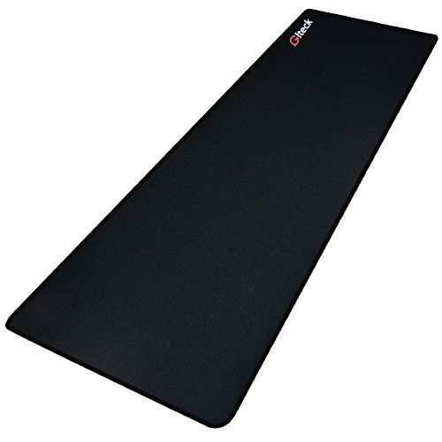"XXL Large Mouse Pad, GLTECK Extended Mousepad, 36""x12"" Non-Slip Rubber Big Mouse Pad XXL Large Mouse Pad, Stitched Edges with Carrying Bag(XXL)"