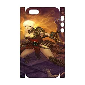 diablo iii iphone 5 5s Cell Phone Case 3D White PSOC6002625667983