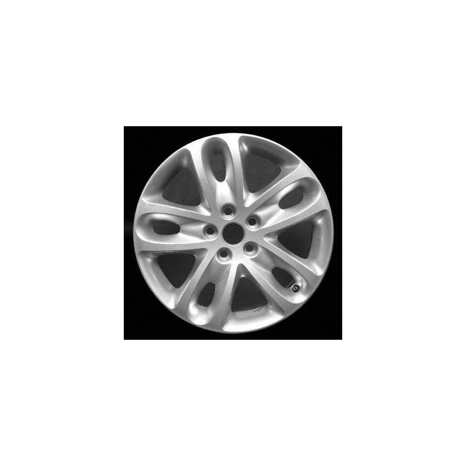 02 03 JAGUAR X TYPE ALLOY WHEEL RIM 17 INCH, Diameter 17, Width 7, Lug 5 (5 SPOKE), HYPERSILVER, 1 Piece Only, Remanufactured , (center cap not included) (2002 02 2003 03) ALY59710U78