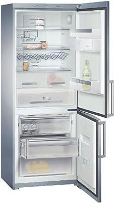 Siemens KG46NA90FF nevera y congelador Independiente Acero ...