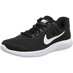 Nike Women's Lunarglide 8 Running Shoe, Black/White-Anthracite, 8.5