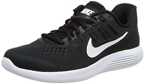 Nike Lunarglide 8 Women's Running Shoe, Black/White/Anthracite, 8.5 US