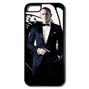 Style 007 James Bond Skyfall IPhone 5c Hard Plastic Cases Dust Proof by runtopwell