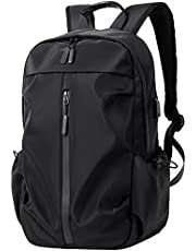 Casual Backpack Laptop 15 Inch Waterproof School Computer Bag with USB Charging Port