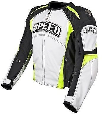 - Speed and Strength Twist of Fate 3.0 Men's Motorcycle Textile Jacket (White/Hi-Viz, XX-Large)