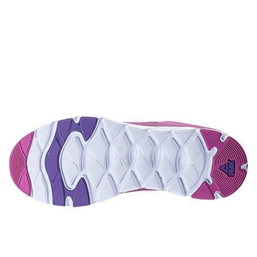 Peak Womens Anti-Skidding Light Running Shoes Rose/Purple xWuyB