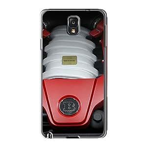 [pBM3494uIxs]premium Phone Case For Galaxy Note3/ Brabus B63 Cls Amg Engine Tpu Case Cover