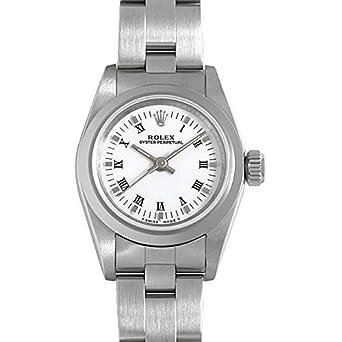 timeless design 6f68d f637f Amazon | ロレックス オイスターパーペチュアル 67180 ホワイト ...