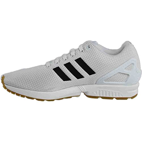 Adidas Zx Flux Homme Blanc / Noir-gomme3