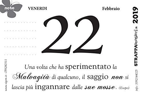 Calendario Filosofico Frase Di Oggi.Strappapensieri Calendario Da Tavolo Con Citazioni Detti E Aforismi Di Tipo Filosofico
