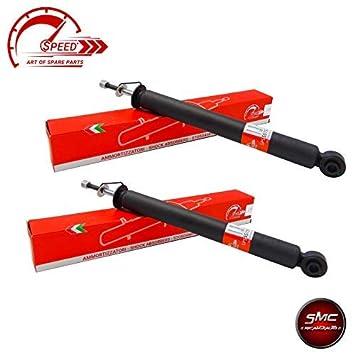 Recambios Coche SMC Kit 2 Amortiguadores Speed Traseros BMW Serie 3 E46 318d 3: Amazon.es: Coche y moto
