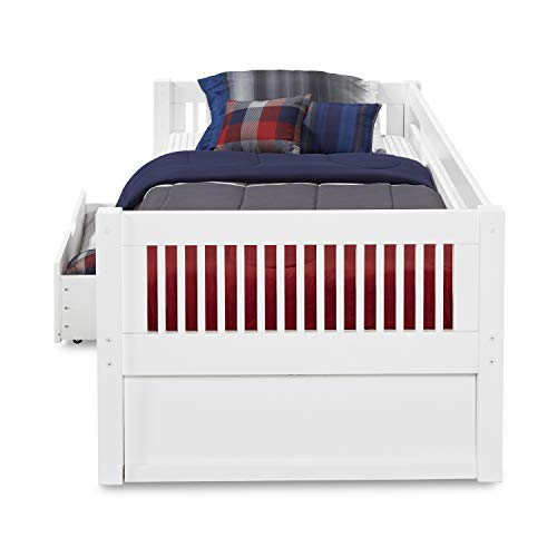 Amazon.com: camaflexi estilo de Misión Day cama con cajones ...