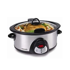 Crock Pot SCVC604HSS 6-Quart Programmable Hinged Smartpot Slow Cooker