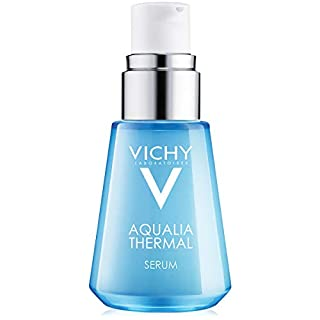 Vichy Aqualia Thermal Hydrating Face Serum with 97% Natural Origin Ingredients & Hyaluronic Acid, Dermatologist recommended for Moisturizing & Smoothing Fine Lines, Mineral Oil Free, 1.01 Fl. Oz