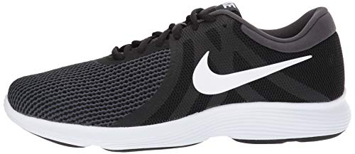 Nike Men's Revolution 4 Running Shoe Black/White - Anthracite 6.5 Wide US by Nike (Image #5)