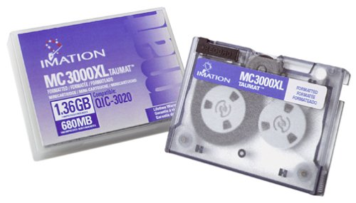 Imation 680/1360MB MC3000Xl Taumat Data Cartridge for, used for sale  Delivered anywhere in USA