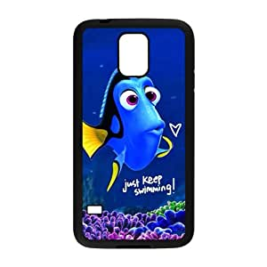 Turtle Rock blue lovely fish Cell Phone Case for Samsung Galaxy S5