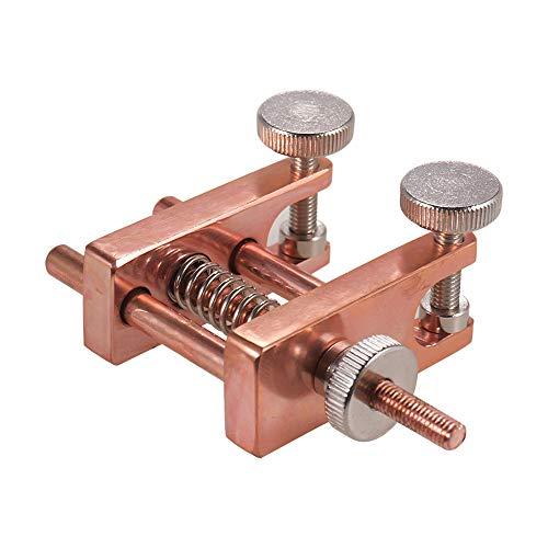 Kalaok Viola Violin Edge Clamp Stainless Steel Luthier Tool for Making Viola Violin Repairing ()
