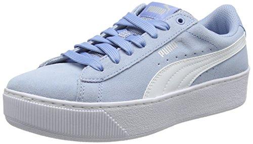 Blu Vikky White Donna Platform puma Puma Sneaker cerulean p7Uva
