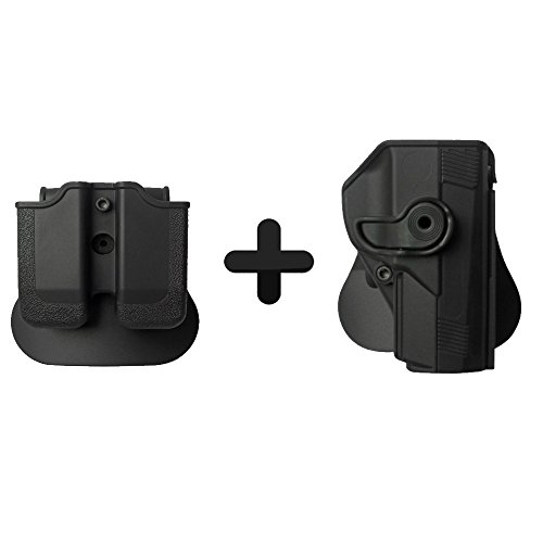 IMI Military Tactical Roto Holster + Double Magazine Pouch Beretta PX4 STORM .45 COMPACT $ Full Size