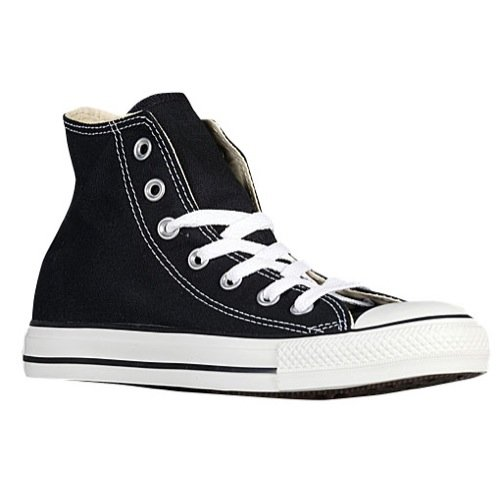 Converse All-Star Chuck Taylor Hi-Top Sneakers (17 M US Mens, Black White)
