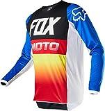 2020 Fox Racing Youth 180 Fyce Jersey-Blue/Red-YXL