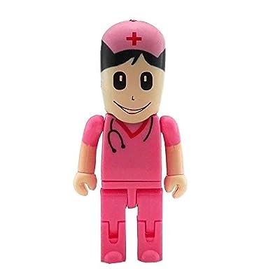 Aneew Pendrive 32GB Green Hat Man Doctor Surgeon Robot USB Flash Drive Memory Thumb Stick U Disk from Aneew