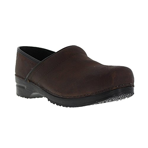 - Sanita Textured Oil, Pro - Men Antique Brown in WR Oil Leather