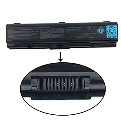 10.8V 4400mAh PA3534U-1BRS PA3534U-1BAS Laptop Battery for Toshiba Satellite PA3533U-1BRS PA3533U-1BAS PA3535U-1BRS PA3535U-1BAS Series ---SOLICE from Solice
