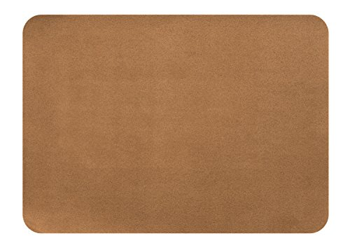 (MastaPlasta Self-Adhesive Patch for Leather and Vinyl Repair, XL Suede, Tan - 8 x 11 Inch - Multiple Colors Available)