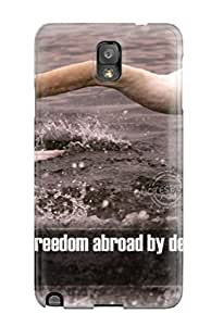 Dustin Mammenga's Shop 05POPY7R49QD35Z0 Premium Protection Freedom Quotes Case Cover For Galaxy Note 3- Retail Packaging