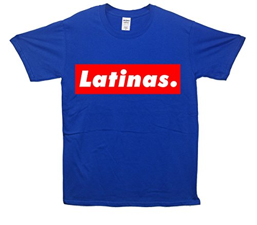 Latinas. T-Shirt - Blau - X-Large (117cm-122cm)