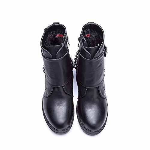 Chaussure Cestfini Cachemire Bottines Boucle Loisirs Bottes Hiver Femme Haut Plus Plates B4BwqY