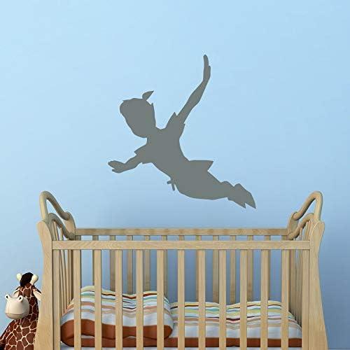 Flying Peter Pan Shadow Tatuajes de pared Etiqueta de vinilo Peter ...