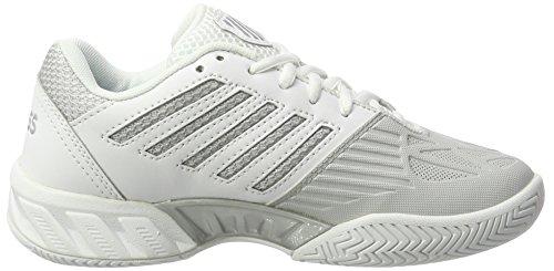 K-Swiss Damen Bigshot Light 3 Tennisschuh Weißsilber