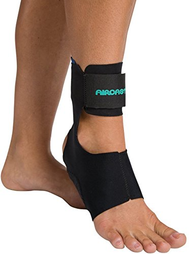 Aircast AirHeel Ankle Support Brace Without Stabilizers, Medium