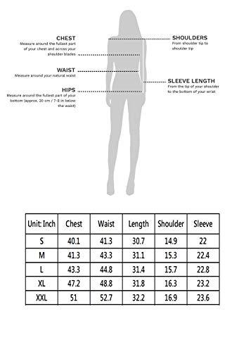 sisiyer Women's Bow Tie Curved Hem Polka Dot Long Sleeve Blouse Top
