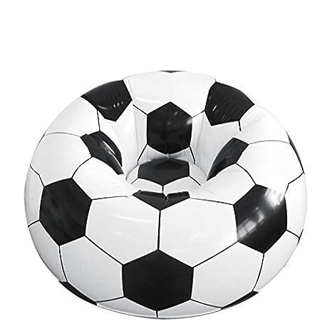 Prodmaison Sillón Hinchable, diseño de balón de fútbol: Amazon.es ...