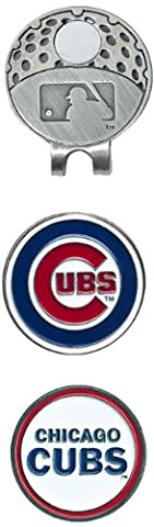 MLB Chicago Cubs Cap Clip With 2 Golf Ball Markers - Magnetic Ball Marker