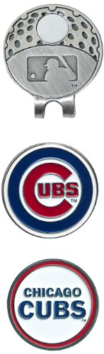 MLB Chicago Cubs Cap Clip With 2 Golf Ball Markers