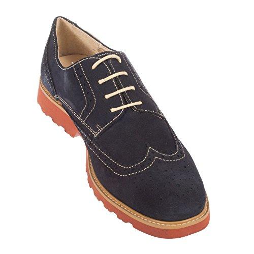 Pikolinos - Zapatos de cordones para hombre blank azul marino/azul